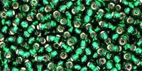 Toho Silver-Lined - Green Emerald (10 g)