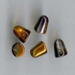 Gumdrops 7x10mm, Magic copper ( 6 ks)