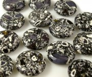 Placka - Pewter, pr.25 mm, (2 ks)
