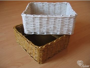 35ef8e077 Návod ako si vytvoriť košík pletený z papiera nájdete tu:
